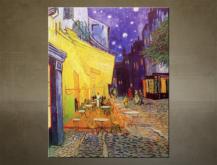 Slika na platnu NIGHT CAFE – Vincent van Gogh