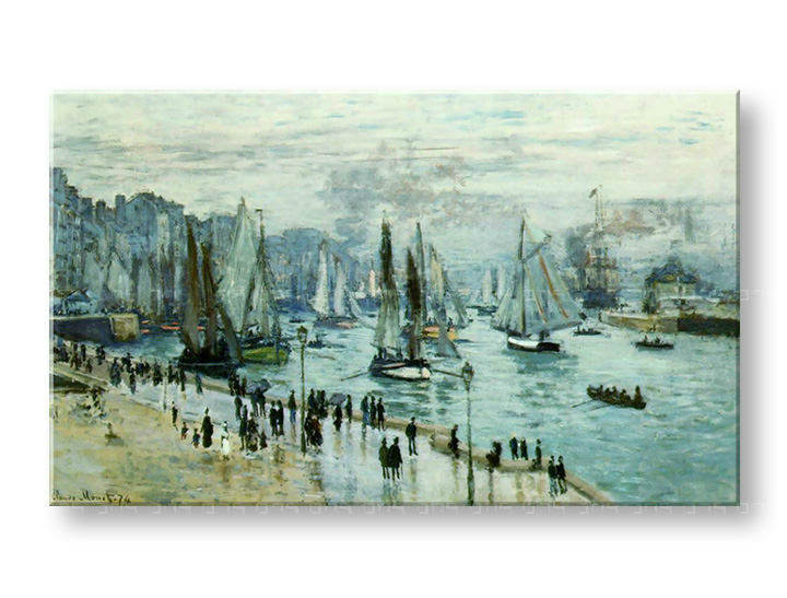 Slika na platnu FISHING BOATS LEAVIN THE HARBOR – Claude Monet