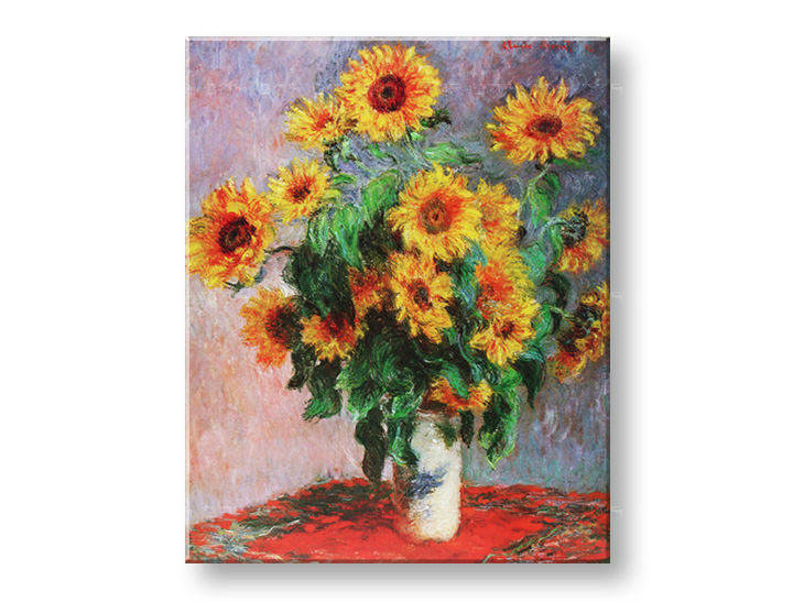 Slika na platnu SUNFLOWER – Claude Monet