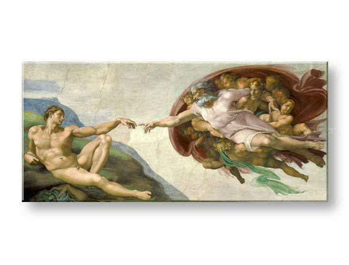 Slika na platnu CREATION OF ADAM – Michelangelo