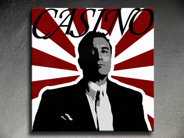 Umjetničke slike POP Art CASINO 1-dijelna 100x100cm