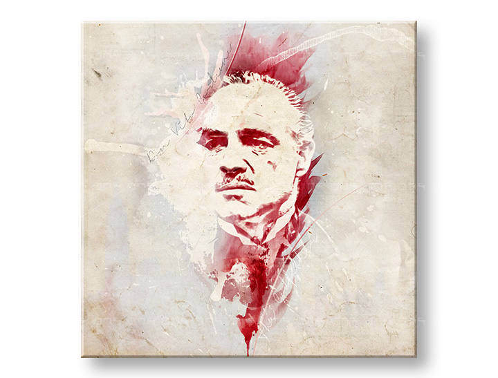 Slike na platnu Godfather Marlon Brando - AQUArt / Tom Loris 006AA1