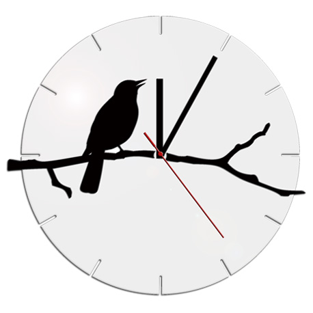 Zidni sat Clock-Bird NH016